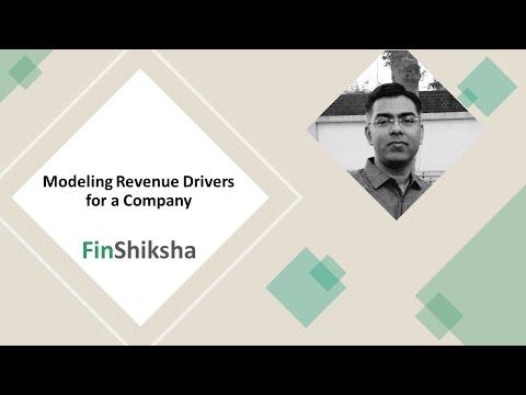 FinShiksha - Financial Modeling of Revenue Drivers