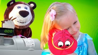 Funny Kids Shopping at the supermarket & Nursery Rhymes Baby Songs for babies, toddlers