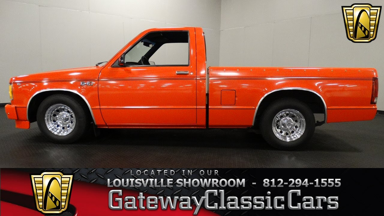 1982 chevrolet s10 louisville showroom stock 1283 youtube sciox Choice Image
