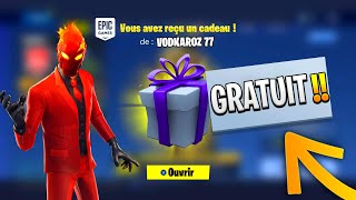 OFFER OFFER OF CADEAUX WITHOUT PAYER TO YOUR AMIS ON FORTNITE! FREE CADEAUX SAISON 8 -PS4/XBOX ONE/PC-😱