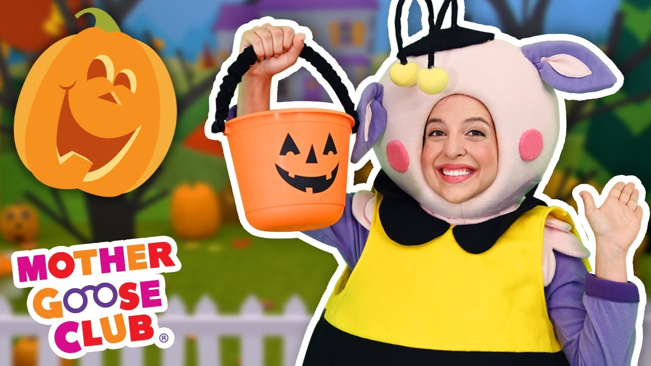 Five Little Pumpkins | 🎃  Happy Halloween! 🎃  | Mother Goose Club Nursery Rhymes