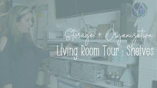 Tiny House Living Room Tour Storage + Organization