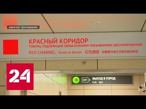 В Домодедово за взятки задержали целую смену таможенников - Россия 24