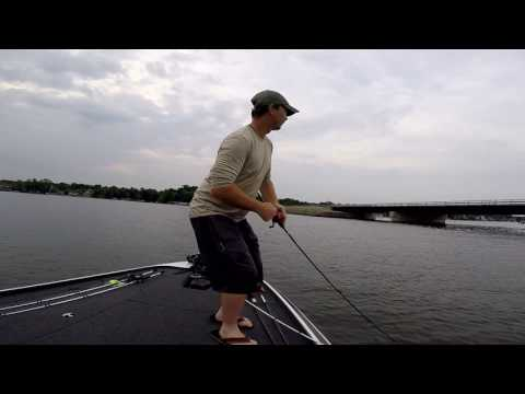 Four Of MY FAVORITE Summer Bass Fishing Baits  Filmed On Geist Lake Indiana