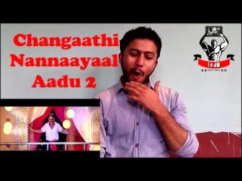 Changaathi Nannaayaal Song Aadu 2 Reaction & Review BY North Indian Fan | Jayasurya | leJB