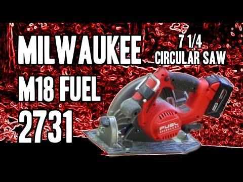 "Milwaukee 2731 M18 FUEL 7 1/4"" Circular Saw"
