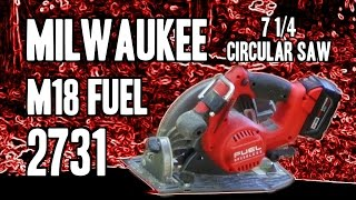 "Milwaukee 2731 M18 FUEL 7 1/4"" Circular Saw"