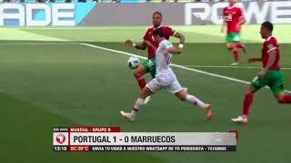 Mundial, Grupo A: Portugal 1 – 0 Marruecos