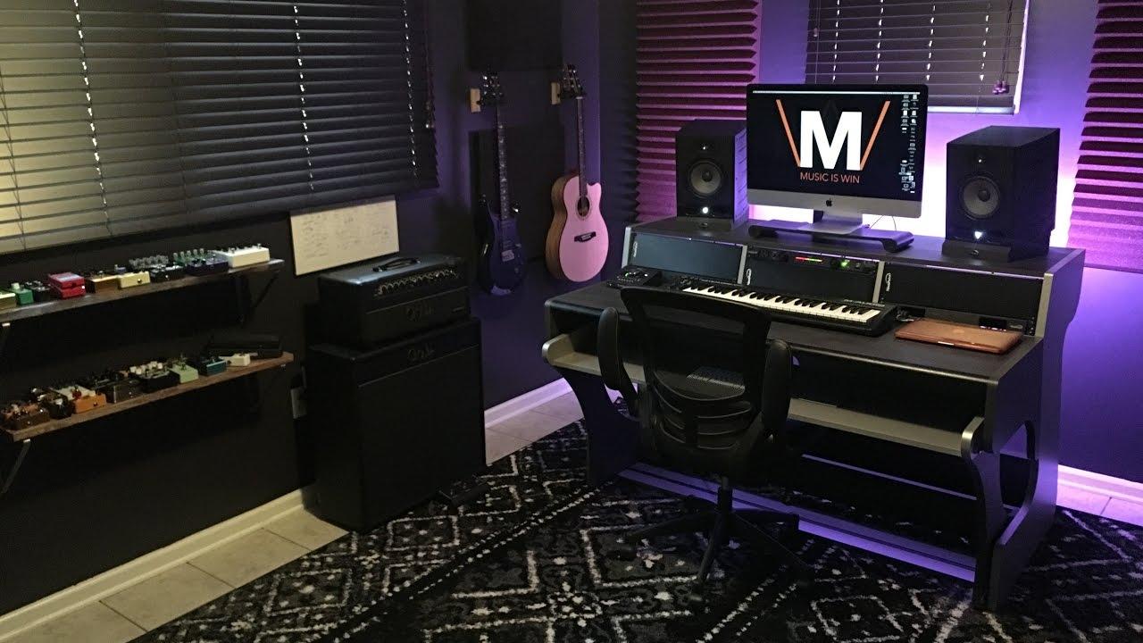 Home Studio Tour 2017 Youtube