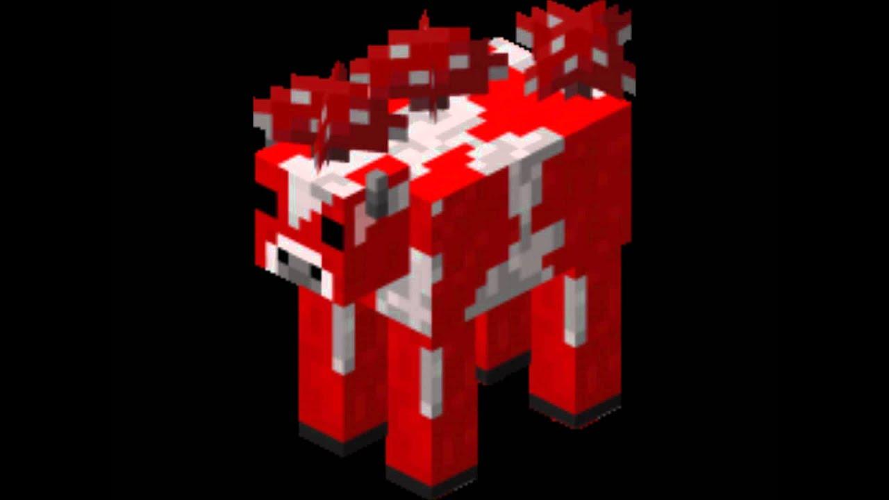 Minecraft MooshroomCow Sounds YouTube
