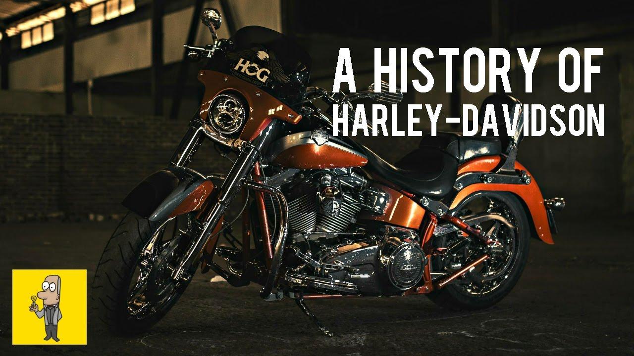 The History of HARLEY-DAVIDSON | Animated Book Summary