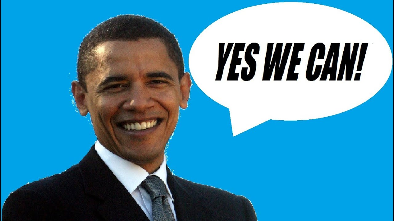 Yes we can sung by barrack obama youtube for Bett yes we can