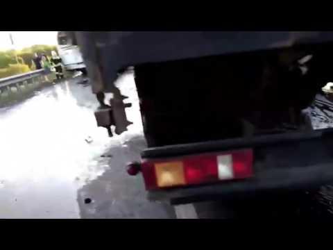 Массовое дтп в ростовской области 6 легковушек 2 автобуса 1 фура