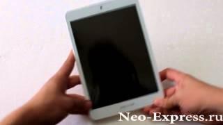 Видео Обзор Goclever Quantum 785 для Neo-Express.ru(Стильный бюджетный планшет с экраном 8