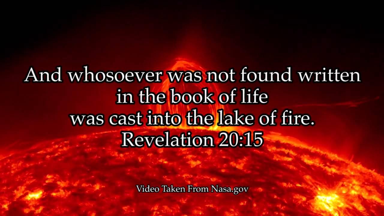 And whosoever was not found written in the book of life for The book of life characters names