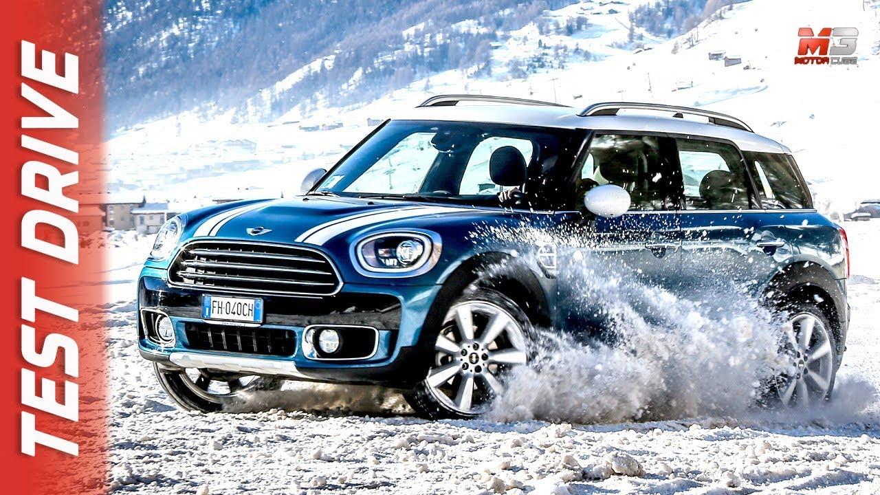 New Mini Countryman All4 2018 Livigno First Snow Test Drive