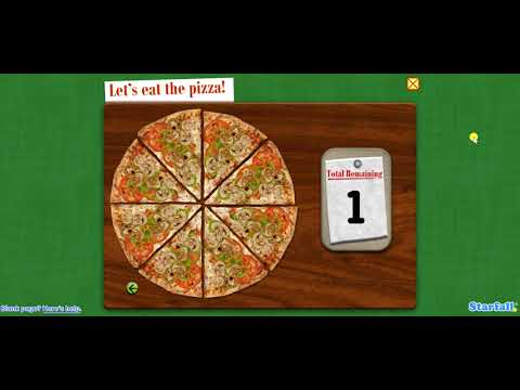 🍕 Math Money Fractions 😄 Numbers Video Kids 💙 Starfall | Games for Children