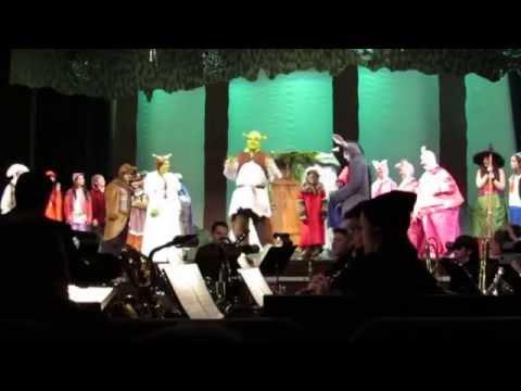 Beautiful Ain't Always Pretty - Shrek, The Musical Syosset High School 3.22.15 Performance
