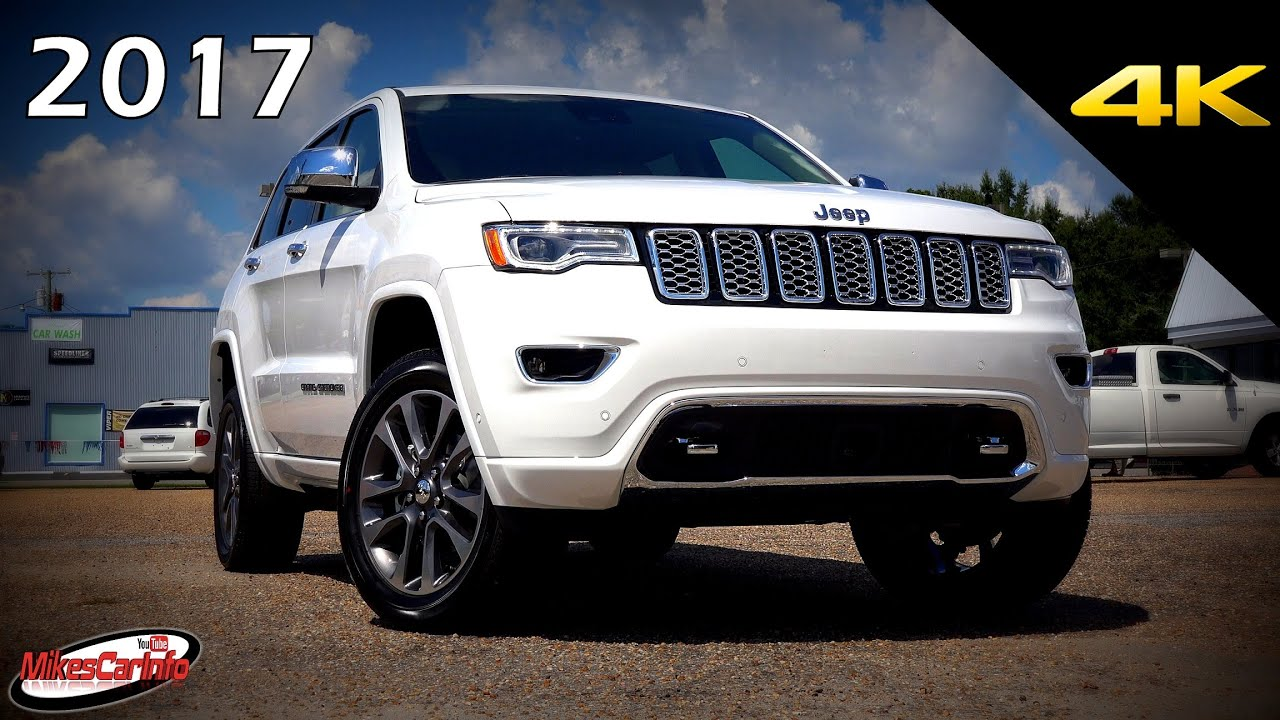 Jeep Grand Cherokee Overland >> 2017 Jeep Grand Cherokee Overland Ultimate In Depth Look In 4k