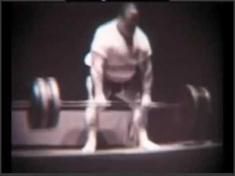 Paul Anderson deadlift 50's years
