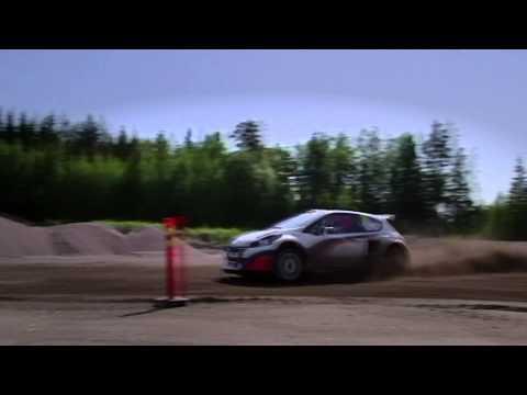 Albatec Racing RallycrossRX Finland // Mika Salo test
