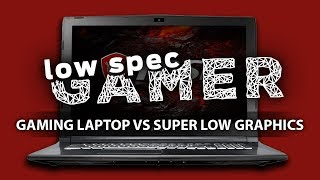 Gaming Laptop vs Super Low Graphics thumbnail