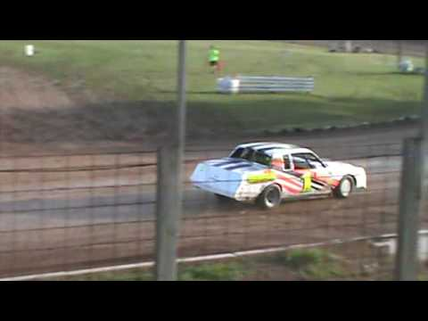 Red Cedar Speedway Pure Stocks Heat race July 1, 2016