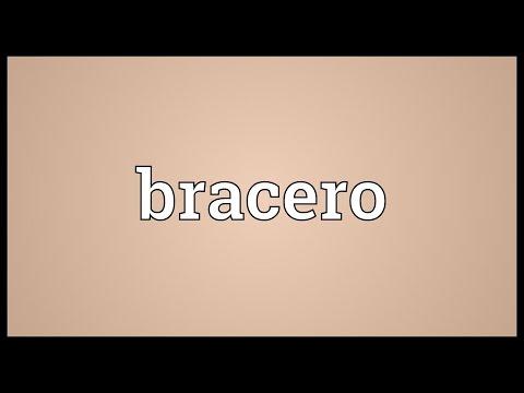 Header of bracero