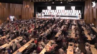 """Tanzgruppe """"Saga"""" aus Bartenstein beim Jahrestreffen der Ostpreußen, Neuss 2017"""