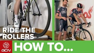 How To Ride Tнe Rollers – A Beginner's Guide