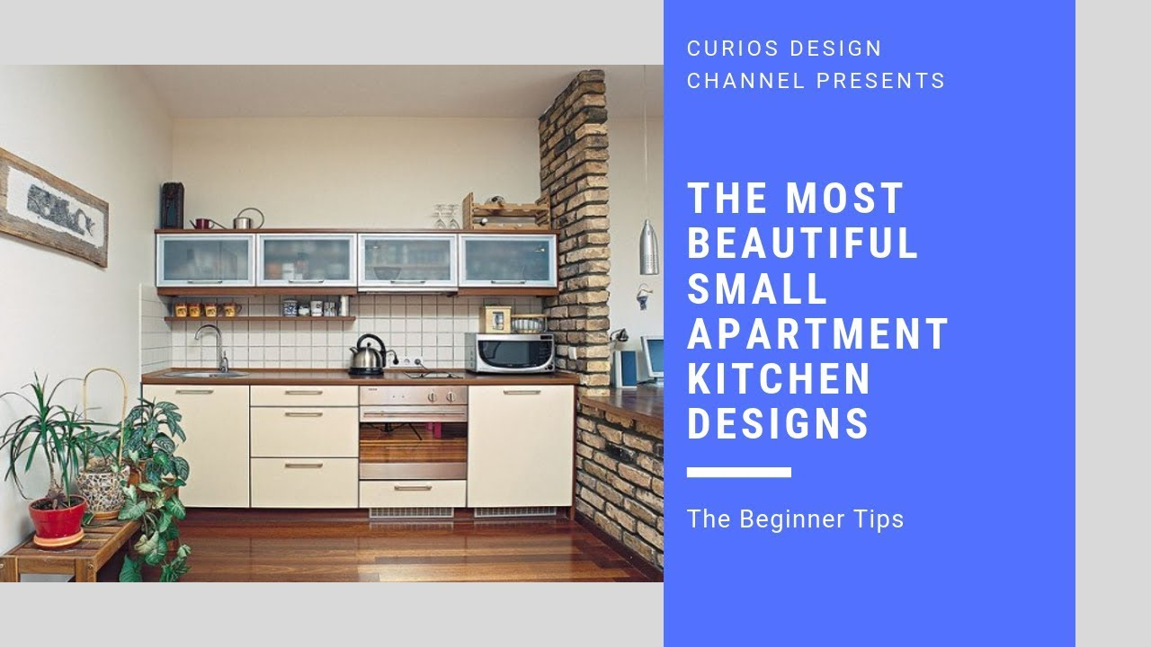 The Most Beautiful Small Apartment Kitchen Designs