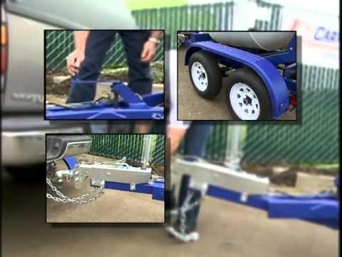 1 yard Portable concrete mixer trailer   CMT100