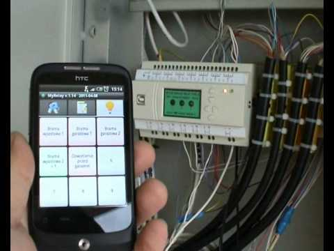 Wiring Diagram Plc 2003 Toyota Corolla Headlight Intelligent House Internet Programmable Relay Pc & Android Home Automation - Youtube
