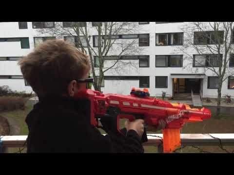 Nerf war sniper vs thieves