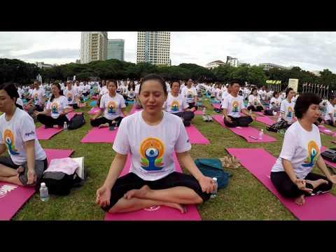 International Yoga Day in Bangkok