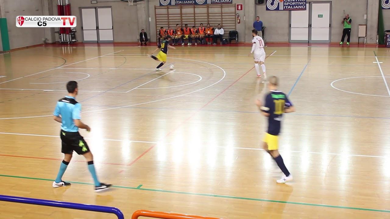 Calcio PADOVA C5 - HELLAS VERONA 5-3 partita integrale ...
