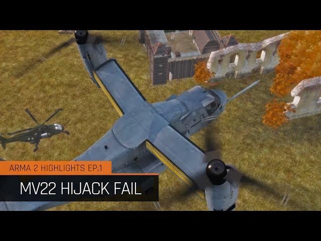 DayZ Mod Highlights Ep.1 - MV22 Hijack Fail - [Deutsch]