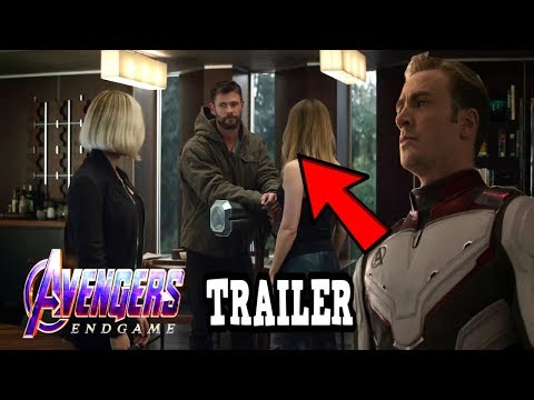 *NEW* AVENGERS ENDGAME TRAILER 2 BREAKDOWN! EASTER EGGS & THINGS YOU MISSED!