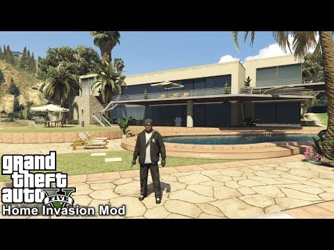 GTA 5 | The Hard Life Part 1 | Home Invasion Mod | Turning To Crime & Robbing Houses In Los Santos