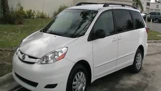 2009 Toyota Sienna LE 8 Passenger Rear DVD System call 305-310-1223