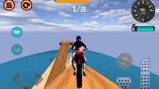Motocross Beach Jumping 2 - E03, Android GamePlay HD
