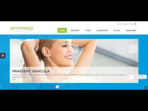 Joomla шаблон Fitness 1.0.2. тренажерный зал скачать бесплатно