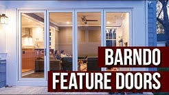 Feature Door Options for the Barndominium