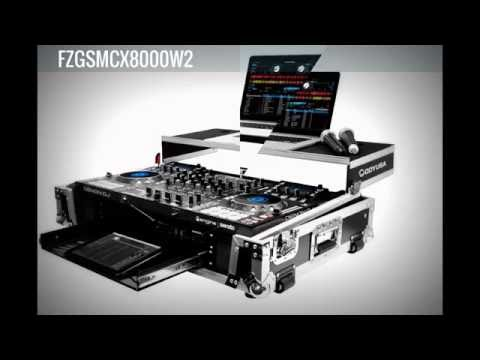 Denon MCX8000 Glide Style Case By Odyssey (FZGSMCX8000W2): Racking  & Packing