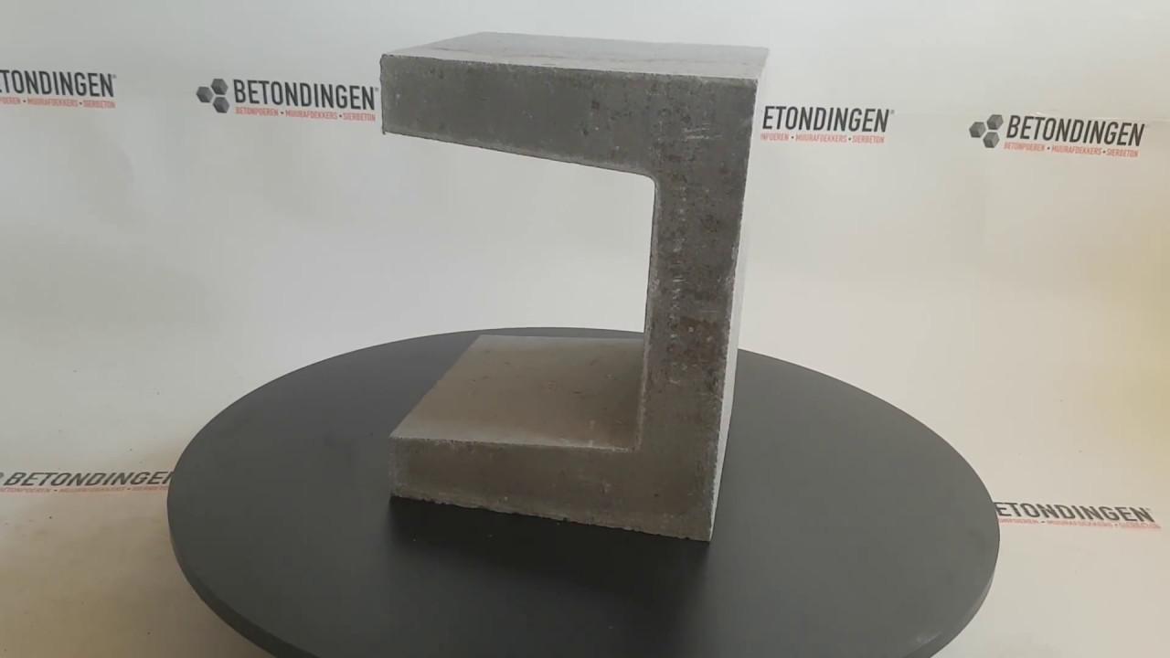 T Element Beton : u element beton kleur grijs youtube ~ Frokenaadalensverden.com Haus und Dekorationen