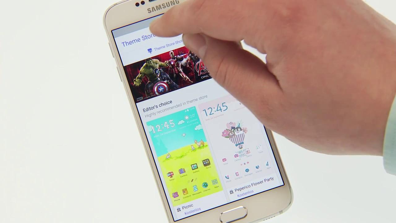 Samsung Galaxy S6 Edge Themes