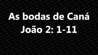 """Pregação """"As bodas da Caná"""" em 04.05.2014"""