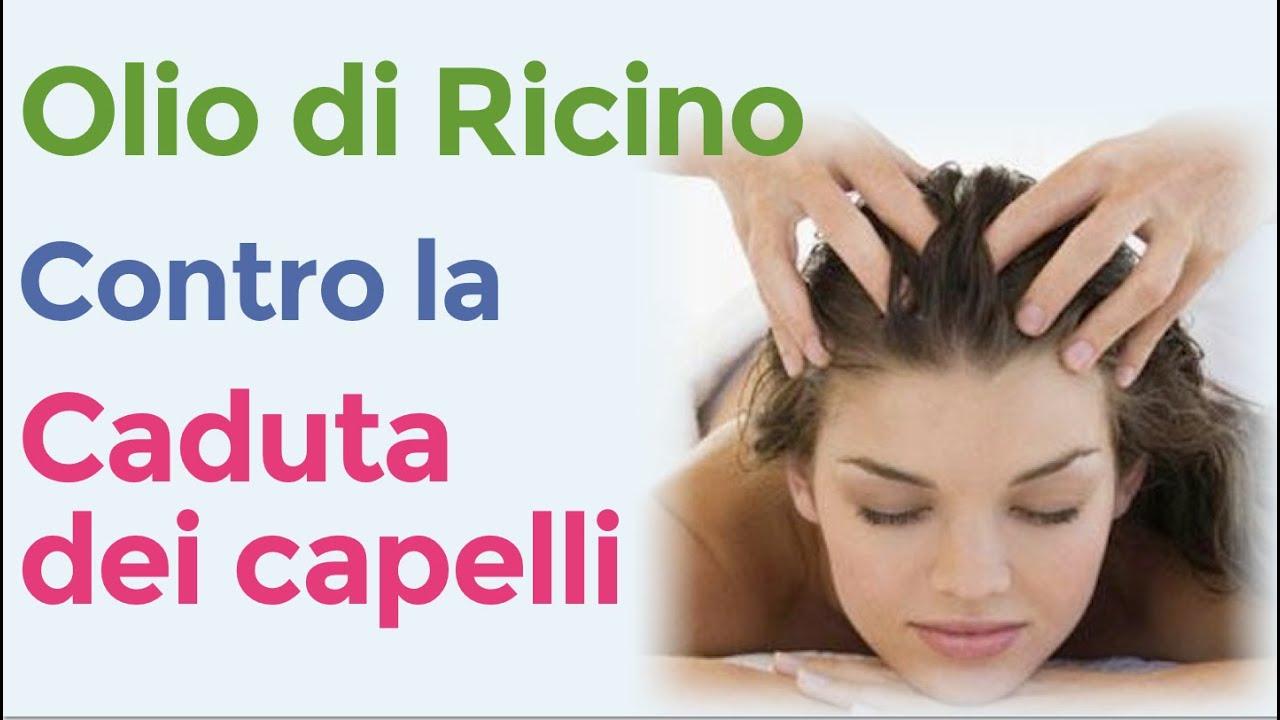 Come applicare una maschera da olio di ricino su capelli