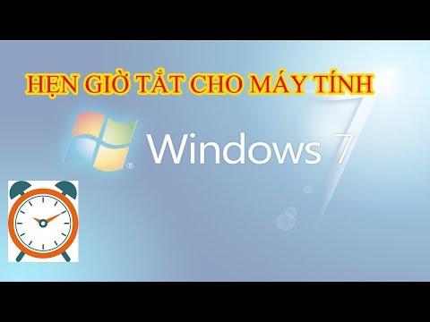 Hướng Dẫn Hẹn Giờ Tắt Máy Cho Win 7 Mới Nhất