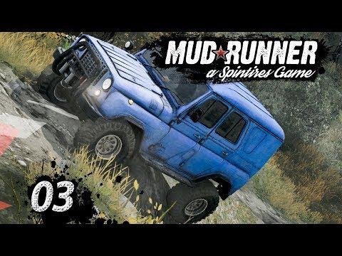 Spintires MudRunner   SEILWINDE, CRASH und STUNTS ► #03 Off-Road Simulator First Look deutsch german